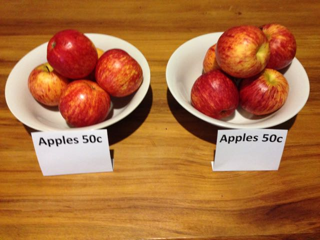 Is Your Business Marketing Like Comparing Apples With Apples Big